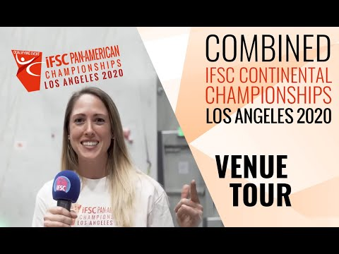 IFSC Pan-American Championships 2020 - Welcome to L.A.