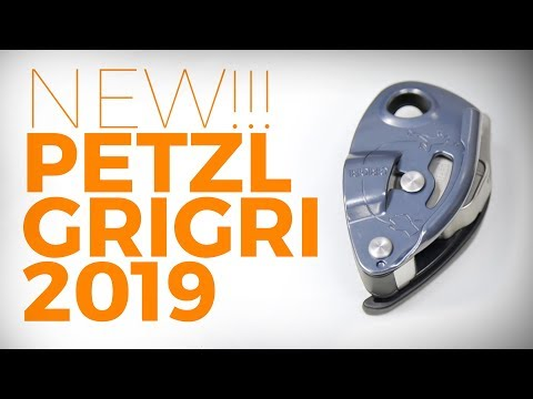 New Petzl GriGri 2019 belay device