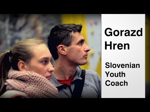 Gorazd Hren | Training with Janja Garnbret