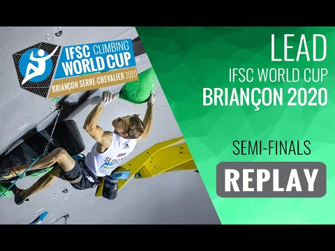 IFSC Climbing World Cup Briançon 2020 - Lead Semi-Finals