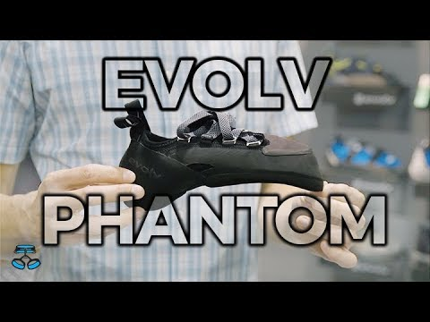 Evolv Phantom climbing shoe - new for 2019