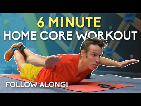 Lattice 6 Minute Core Workout: Floor Based!