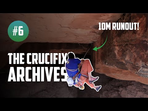 Tom takes a massive climbing fall | The Crucifix archives