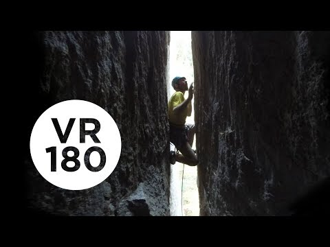 Chimney of Horrors | Yosemite Higher Spire Free, Part 1 (VR180)