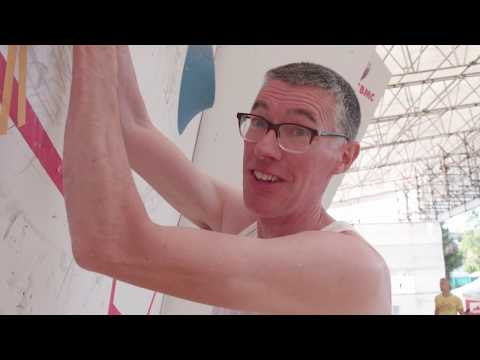 How hard are the British Bouldering Championship boulders? Niall Grimes tries them.