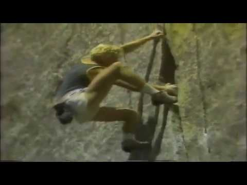 John Bachar free solo Crack a go go and training in camp 4